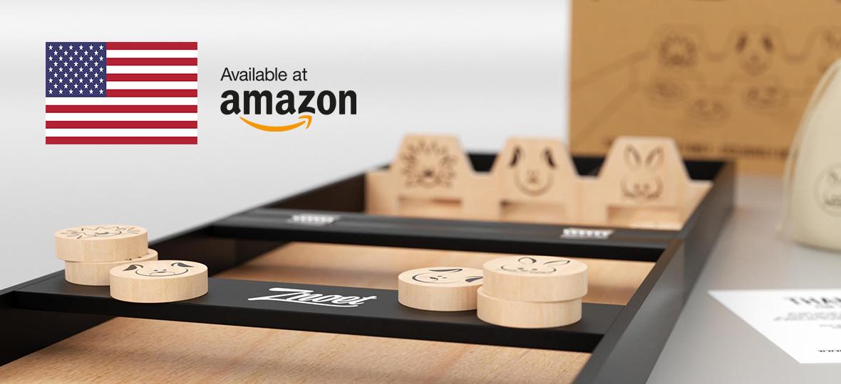 Znoet op Amazon